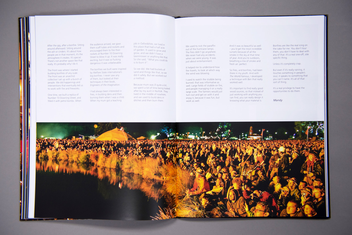 Spread From Fireworking