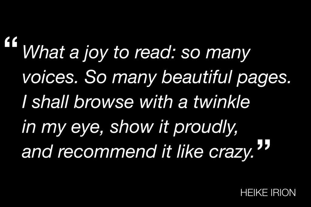 A quote from Heike Irion